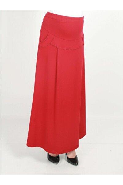 Işşıl Hamile Giyim Cepli Lakos Etek