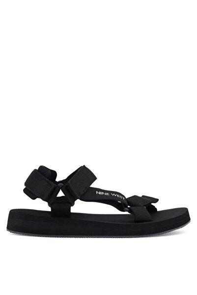 Nine West Siyah Kadın Düz Sandalet