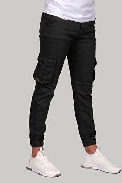 Erkek Kargo Pantolon Siyah