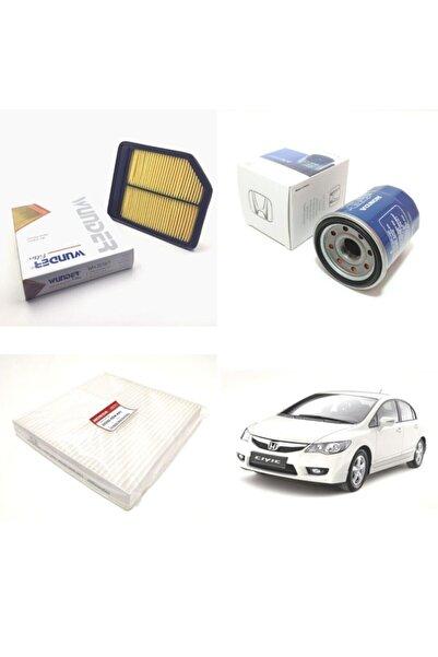 WUNDER Honda Civic (2006-2011) Fd6 Filtre Bakım Seti