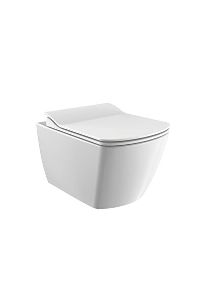 Creavit Elegant Rim-off Asma Klozet Beyaz
