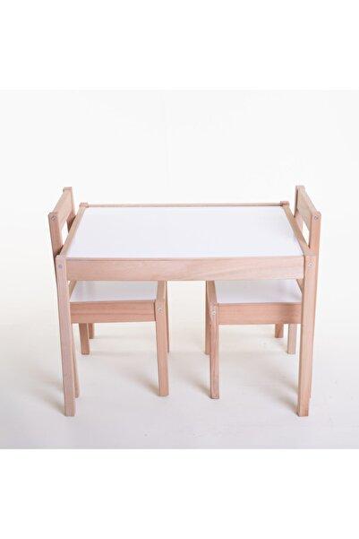 Arma House Aura Çam Ağacı Çocuk Masa Sandalye Takımı