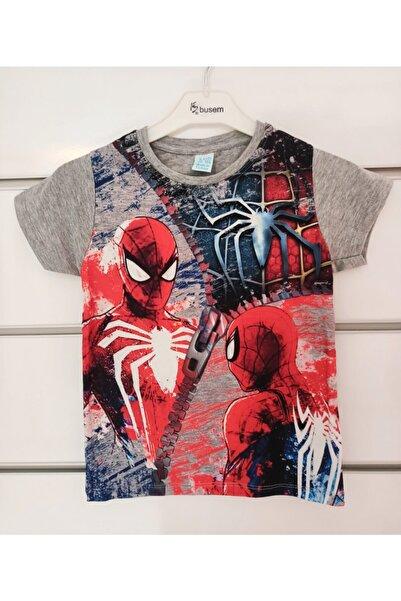 SPIDERMAN Spider Erkek Çocuk Üst Tsirt Yeni Sezon