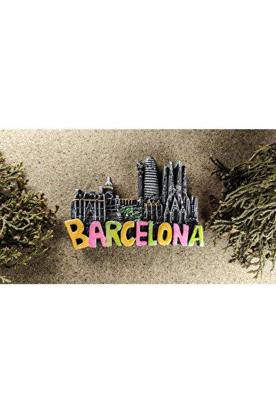 Tumbled Workshop Barcelona Magnet Buzdolabı Süsü