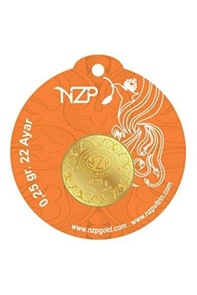 NZP Gold 1 Adet 0.25gr 22 Ayar Altın