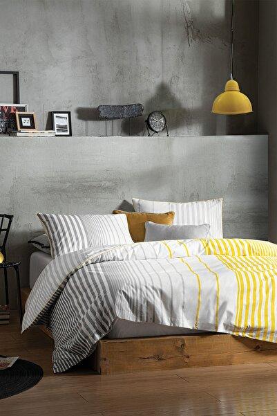 Yataş Bedding Hermia Ranforce Çift Kişilik Nevresim Takımı %100 Pamuk Çift Taraflı Kullanım