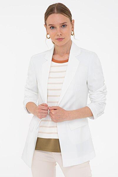 Pierre Cardin Beyaz Kadın Ceket G022SZ002.000.1310758