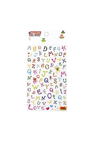 Bigpoint Sticker Baby Harfler 15'li Paket