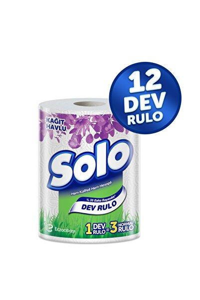 Solo Dev Rulo Kağıt Havlu 12'li