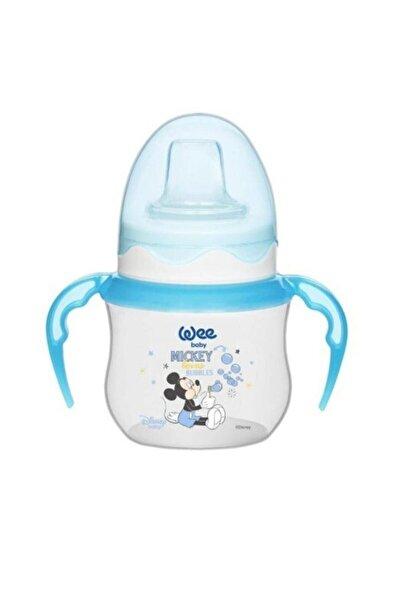 Wee Baby Disney Kulplu Alıştırma Bardağı125mlmavi