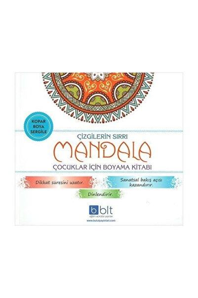 Bulut Yayınları Çizgilerin Sırrı Mandala Çocuklar Için Boyama Kitabı
