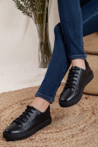 Unisex Siyah Sneaker