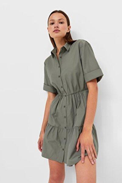 Kısa Gömlek Elbise