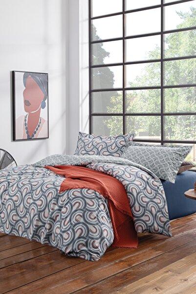 Yataş Bedding Espiral Ranforce Çift Kişilik Çift Taraflı Nevresim Takımı
