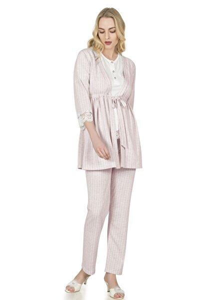 FLZ Üçlü Pijama Takımı