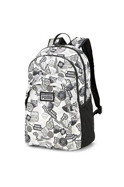 Puma Academy Backpack Unisex Beyaz Günlük Stil Sırt Çantası 07730112