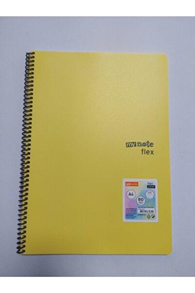 Umix My Note Flex Pastel A4 80 Yaprak Kareli Spiralli Plastik Kapak Geçerli Fiyat 1 Adet Için Geçerlidir.