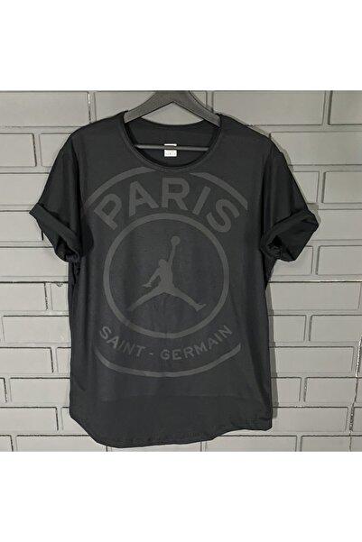 by joker Erkek Paris Baskı Siyah Tshirt