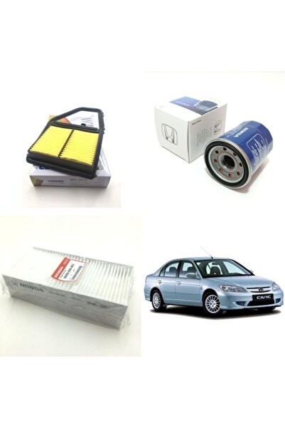 WUNDER Honda Civic ( 2001 - 2005 ) Filtre Bakım Seti