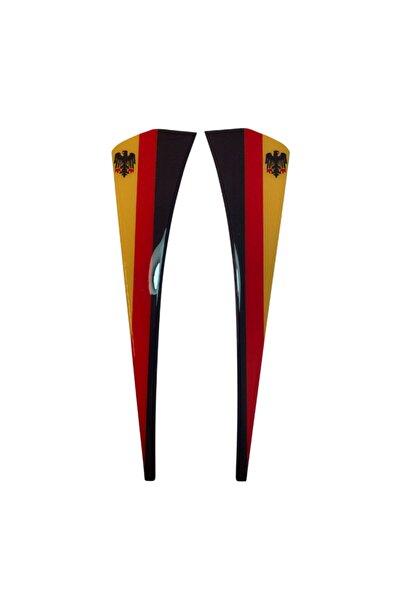 trimshop Almanya Bayrak Renkli Çamurluk Venti