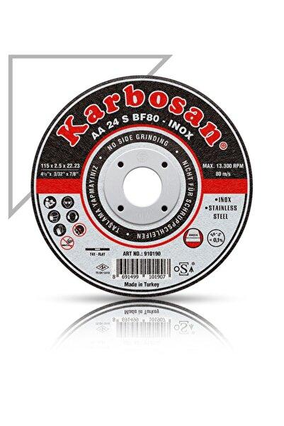 KARBOSAN Inox Metal Kesme Taşı 115 - 5 Adet (ince Tip, Hassas Kesim)
