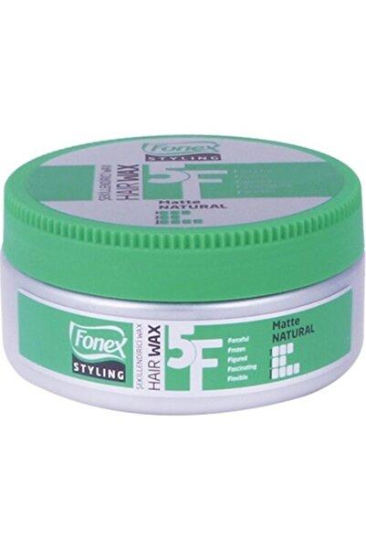 Fonex Yeşil Stylıng Haır Wax Matte 150ml Şekillendirici Mat Wax