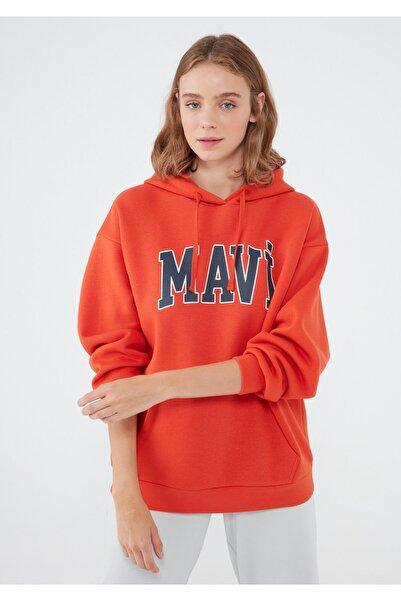 Mavi Turuncu Sweatshirt