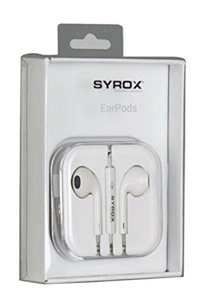 Syrox Teknobia Iphone Girişli Kulaklık Iphone 7-8-7 Plus-8 Plus-x-xr-xs-11-11 Pro-11 Pro Max-12-12 Pro