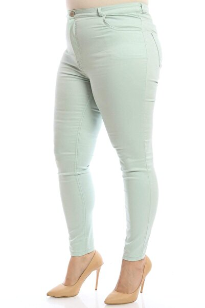 Hanezza Full Likralı Keten Pantolon