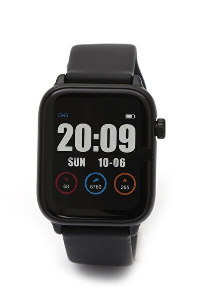 Daniel Klein Smart Watch Siyah (akıllı Saat) +bluetooth Kulaklık + Ekran Koruyucu