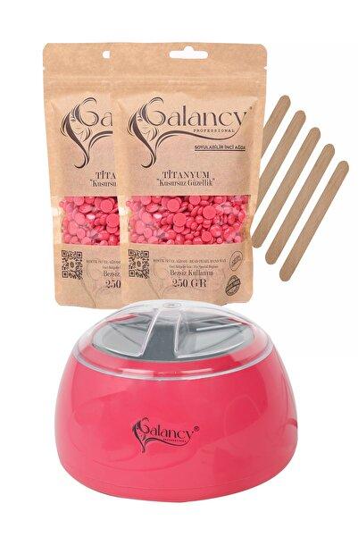 Galancy 2 Adet 250 Gr Soyulabilen Boncuk Ağda, Ağda Isıtıcı Makine Ve Spatula Seti