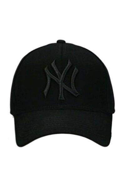 NuxFah Ny New York Şapka Unisex Siyah Şapka