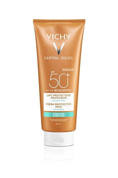 Vichy Lait Hydrating Milk Spf50+ 300ml