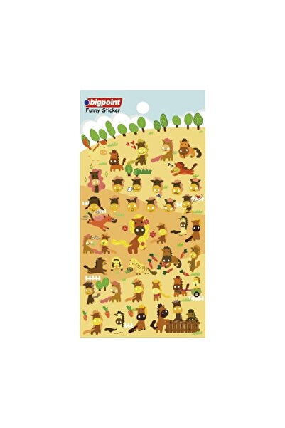 Bigpoint Sticker Atlar 15'li Paket