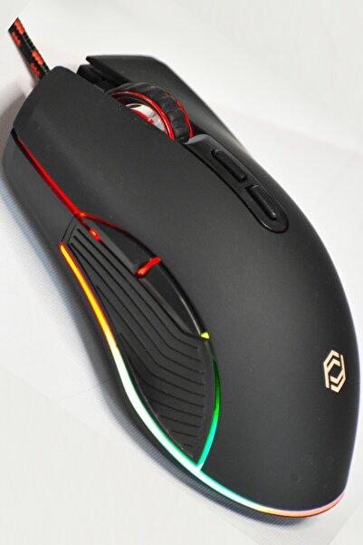 FRISBY Pandora 8000 Dpı Rgb Ledli Makrolu Pro Gaming Mouse