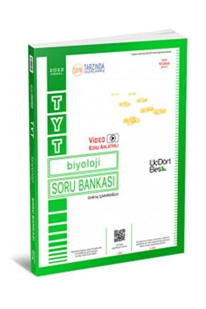 Üç Dört Beş Yayıncılık 345 Yayınları Tyt Biyoloji Soru Bankası 2021