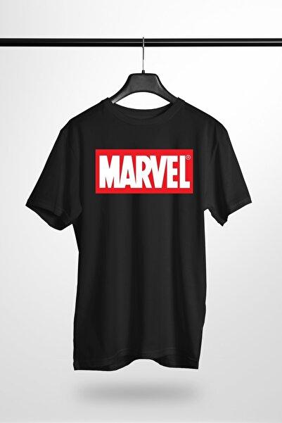 Reyondrop Marvel Siyah Regular T-shirt