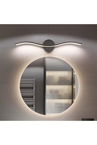 Sinem Avize Mars Siyah Banyo Ayna Tablo Apliği Günışığı Ledli Aplik