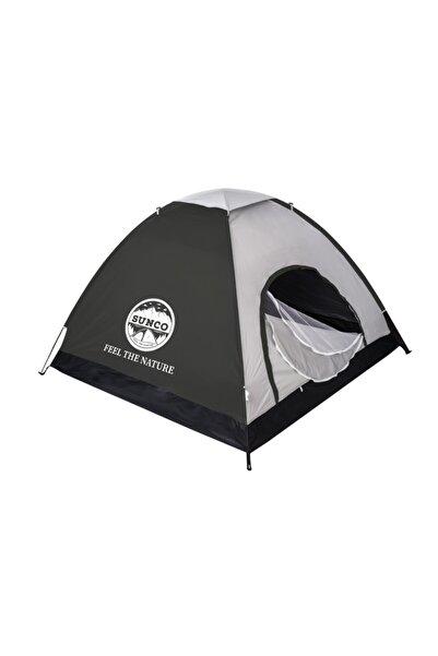 SUNCO 2-3 Kişilik Kamp Çadırı -180 X 150 X 110 Cm - Gri Renk