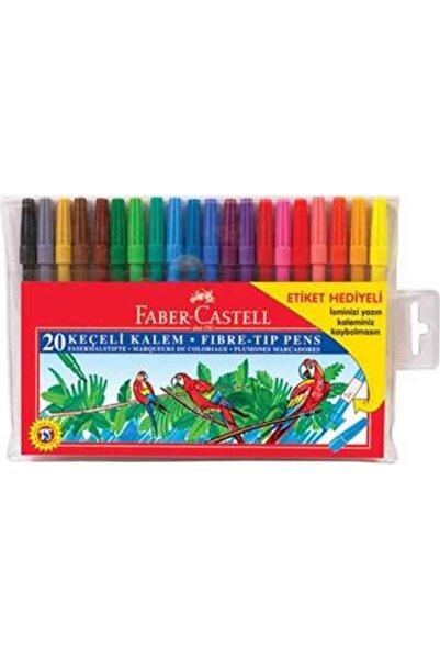 Faber Castell Yıkanabilir Keçeli Kalem 20 Renkli