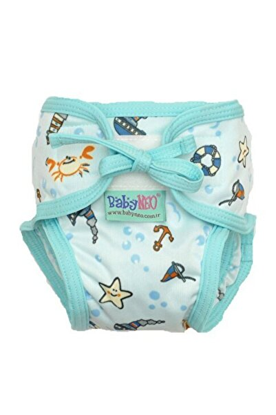 BabyNEO Yıkanabilir Mayo Bebek Bezi - (GEMİCİ) 3 Beden 15-20 kg