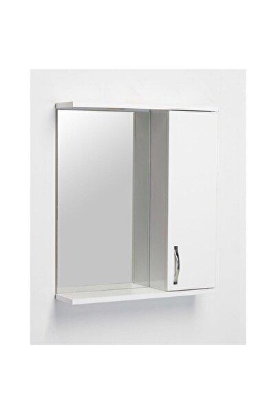 Artı Dolap Saydam Aynalı Üst Modül Banyo Dolabı 65 Cm