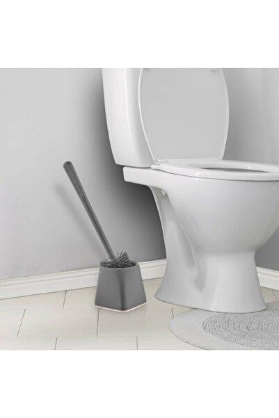 EARABUL Antibakteriyel Silikon Uçlu Tuvalet Fırçası Seti - Tuvalet Ve Klozet Temizleme Fırçası