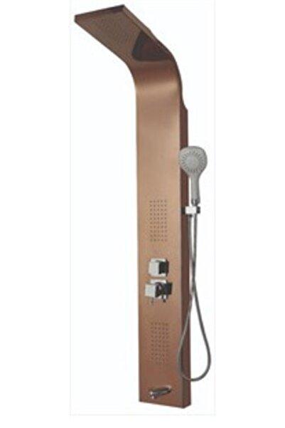 ALYA Kuğu Bakır Paslanmaz Çelik Hidromasaj Duş Paneli (kendinden Bataryalı)