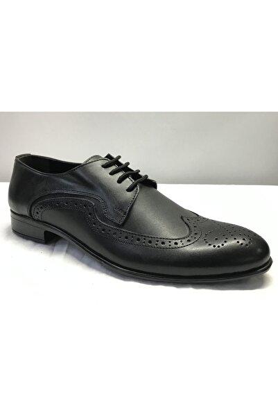 Şahin Erkek Siyah Klasik Kundura Ayakkabı