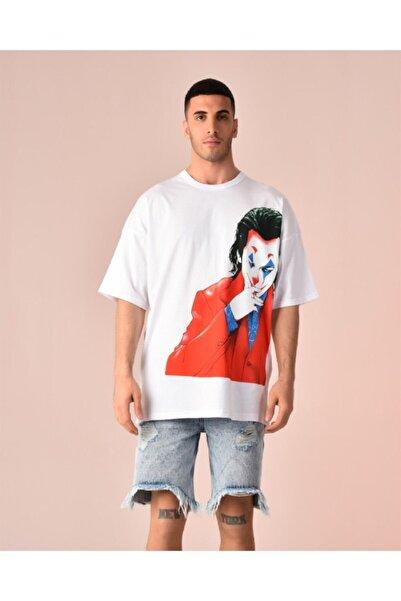 Rocqerx Joker Baskılı T-shirt R-5290