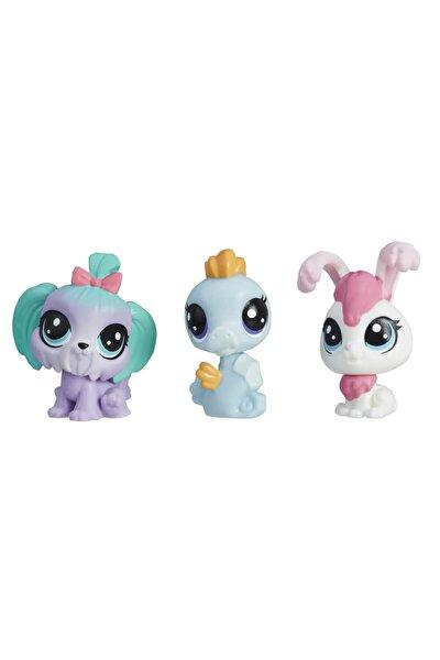 Littlest Pet Shop Mini Miniş Figür Üçlü Paket E0456