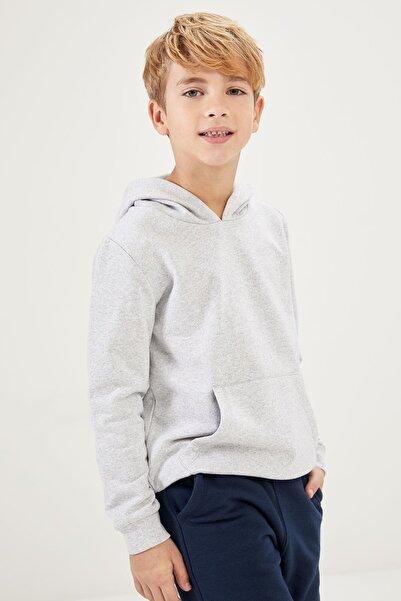 DeFacto Erkek Çocuk Kanguru Cepli Sweatshirt