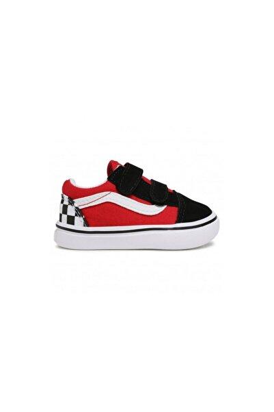 Vans Td Comfycush Old Skool V (checkerboard) Günlük Çocuk Spor Ayakkabı