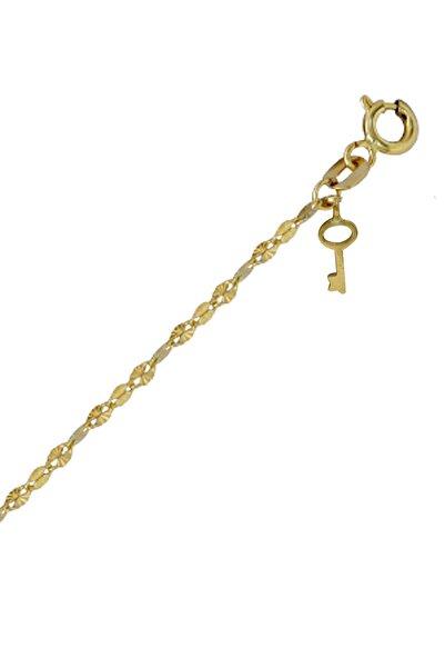 Ariş Pırlanta Anahtar Altın Bileklik